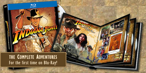 Indiana Jones on Blu-ray