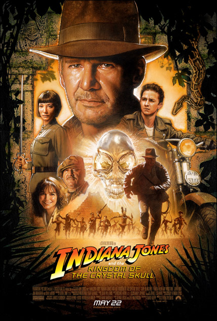 ''Indiana Jones 4' one-sheet