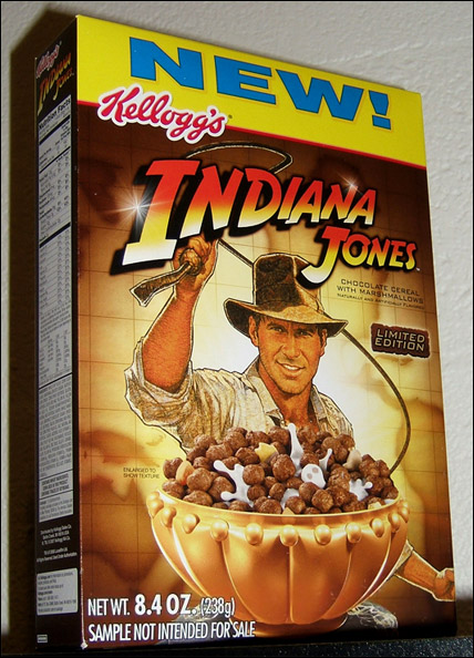 Kellogg's Indiana Jones