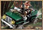 Exclusive LEGO Indy Jungle Cruiser