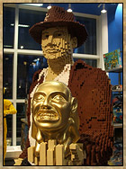 Lifesize LEGO Indiana Jones