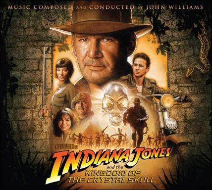 Indy 4 Soundtrack Cover