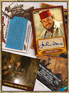 Indiana Jones Hertage Cards